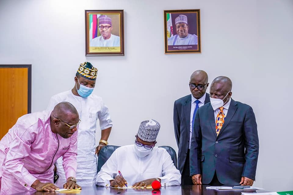 Governor Lalong Signs 4 Bills on Autonomy and Land Administration into Law; Says New Laws Will Improve IGR and Security.